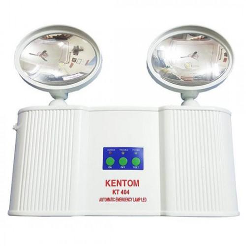 Đèn sạc khẩn cấp 2 bóng LED 3W KENTOM KT-404