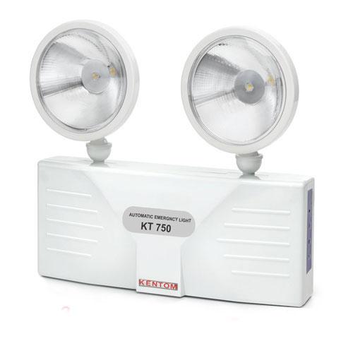 Đèn sạc khẩn cấp 2 bóng LED 3W KENTOM KT-750