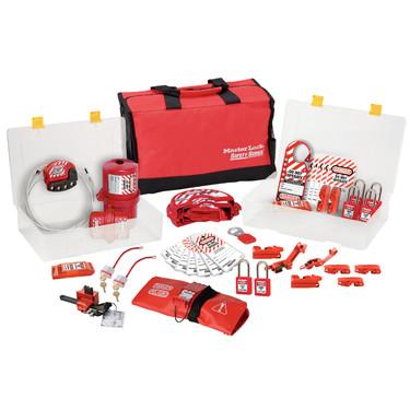 Hộp công cụ khóa cá nhân cho khóa van và điện Master Lock 1458VE410