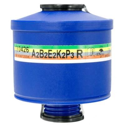 Phin lọc khí hữu cơ và khói Spasciani ABEK2-P3