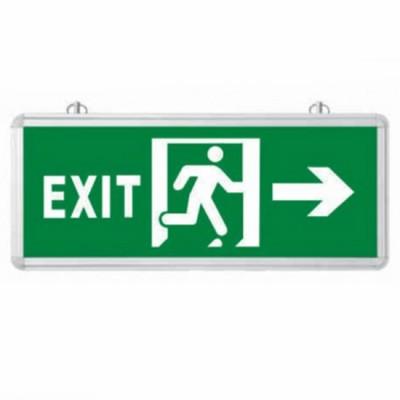 Đèn lối thoát hiểm chỉ hướng phải 1 mặt EXIT HUFA-R110