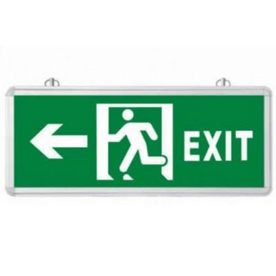 Đèn lối thoát hiểm chỉ hướng trái 2 mặt EXIT HUFA-L210