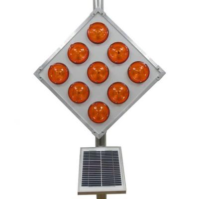Đèn cảnh báo sử dụng năng lượng mặt trời Hi-Q WL-24H