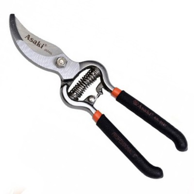 Kéo cắt cành lưỡi cong 200mm Asaki AK-8647