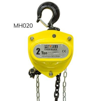 Pa lăng xích kéo tay 2 tấn PAWELL MH020