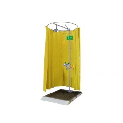 Rèm tắm & rửa mặt kết hợp bằng thép không gỉ WJH1591