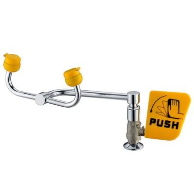 Vòi rửa mắt khẩn cấp hai đầu gắn trên bàn WJH1555A